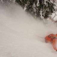 Early powder days in Courmayeur