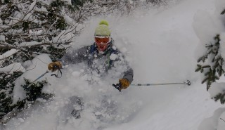 Powder Skiing Early Season 11/12