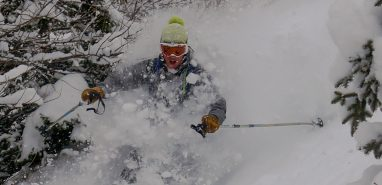 Powder Skiing Early Season 11/12