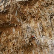 Grande grotta tufa action