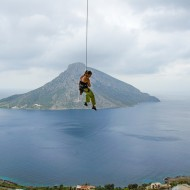 Kalymnos gives you all possibilities to improve you rock climbing.