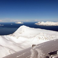Ski touring Stor Galten