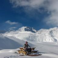 Lyngen ski touring - Fastdalstind