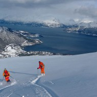 Lyngen ski touring - Kavringstind