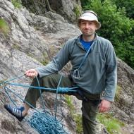 Multi-pitch rock climbing