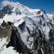 Plan-Midi traverse, our descent route