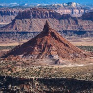 Canyon lands and towers
