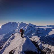 Swiss summit of Matterhorn