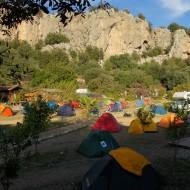 JoSiTo campsite overflowing
