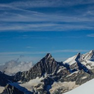 Views of Dent Blanche, Obergabelhorn and Weisshorn