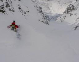 Couloir Skiing Lyngen