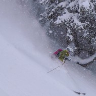 Jonas in powder heaven