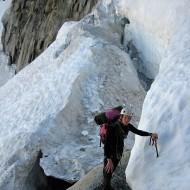 The bergschrund