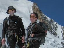 Family glacier trekking Chamonix