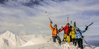 Guided Ski Touring in Lyngen Alps Norway