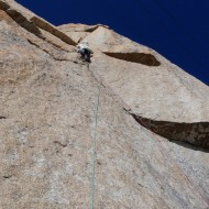The 6c pitch on Voie Kohlmann