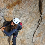 High quality rock climbing in high altitude