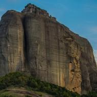 Meteora rock walls