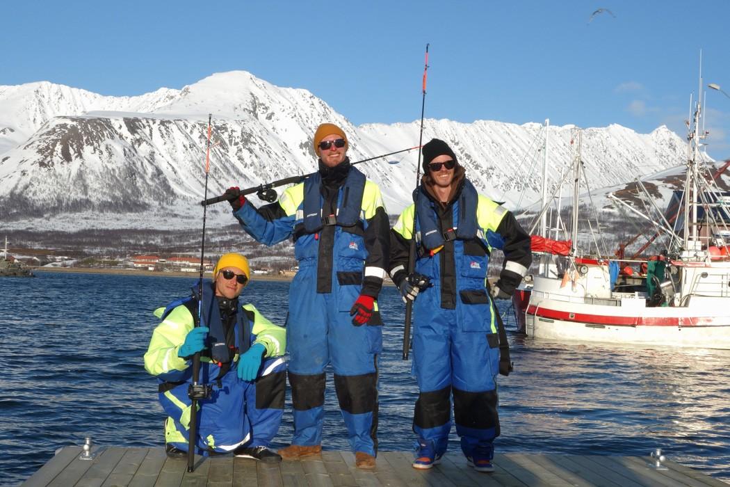 Ski lodge life in lyngen mountain spirit guides for Sea spirit fishing