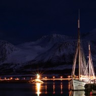 A perfectly still night in Lyngen