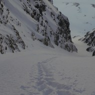 Steep skiing southern Lyngen