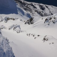 Un-touched couloirs waiting to be skied