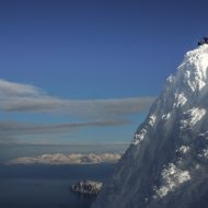 Bagging island summits - Lyngen ski and sail