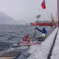Arctic sailing