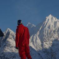 Lyngen Alps line scouting