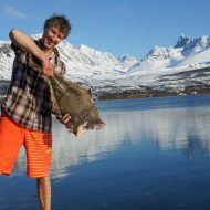 Todays catch - Lyngen halibut