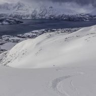 Summit to sea in Lyngen