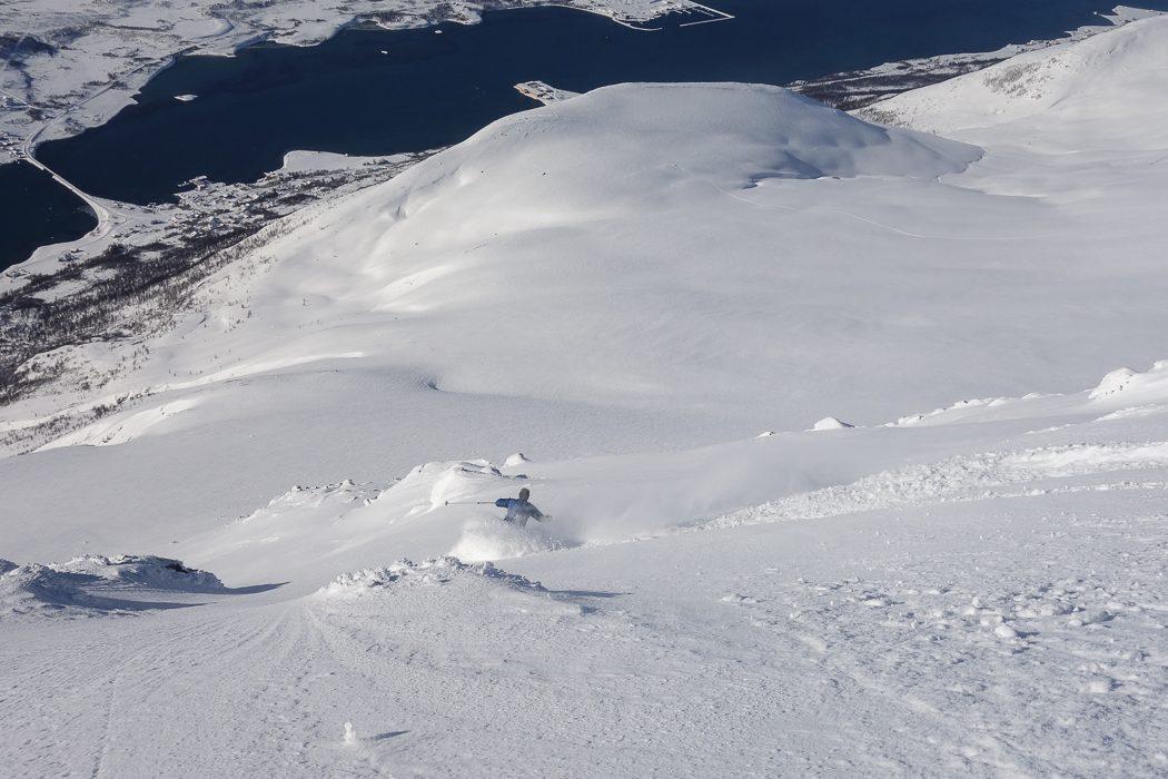 skiing Lyngen Alps