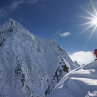 South Lyngen ski touring