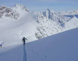 South Lyngen Ski Mountaineering