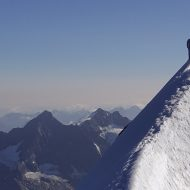 Summit ridge - Eiger