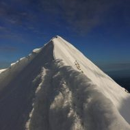 Summit ridge on Monch