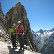 Aiguille Dibona descent via the normal route