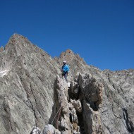 North summit of Aiguille Dibona