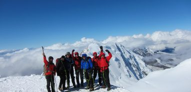 Climb Easy 4000m Peaks in the Alps