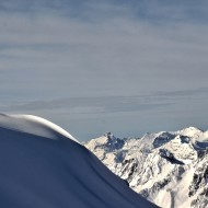 Grands Montets before the official season started 2012