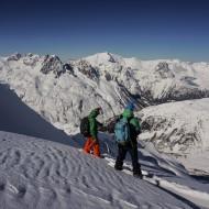 Paul and John ready to ski