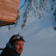 Lots of memories, discussing ski descents and climbs with friends