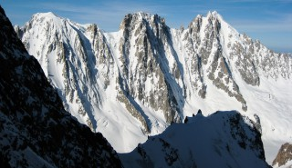 End Of Season Ski Touring In Chamonix