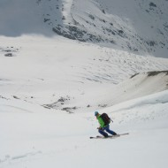Almost back on the Argentiere glacier