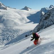 Skiing Petit Envers, Aig du Midi