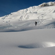 Snowbridges on Petite Envers
