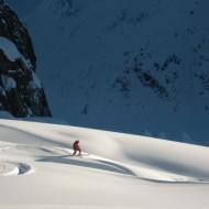 Off-piste runs Chamonix
