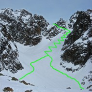 The skin up to Col de Beugeant