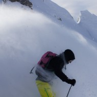 Freezing cold and fresh powder, xmas day in St Anton