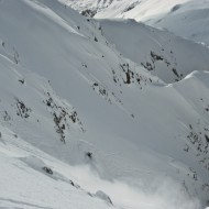 Alternative shoot down to Toula Glacier
